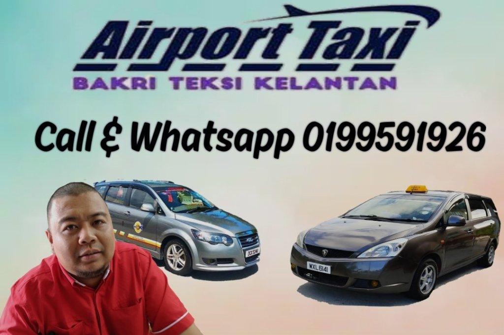 perkhidmatan teksi,airport pickup/home pickup,untuk perjalanan jauh/luar negeri. untuk tempahan. call or whatsapp 0199591926. www.airporttaxikelantan.com